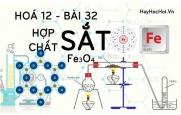 Tính chất hoá học của Sắt 2, Sắt 3 oxit Sắt từ và hợp chất của Sắt - hoá 12 bài 32